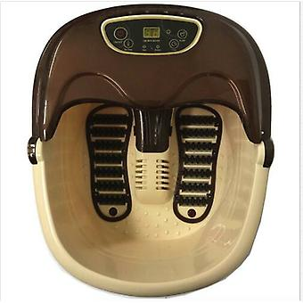 Foot Spa Massager | Bubble Soak Rolling Scrapping Vibration Heat