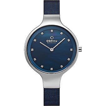 Obaku Sky Arctic Women's Wristwatch V173LXCLML