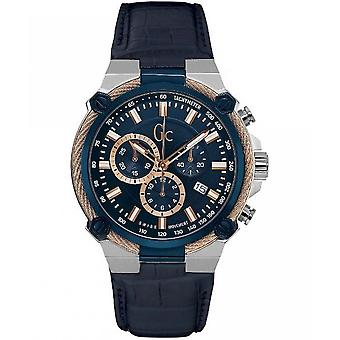 GC by guess mens watch sports chic collection GC cable force chronograph Y24001G7