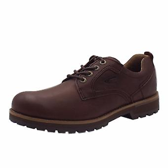 Camel Active Alfie Adventure Men's Casual Lace Up Shoes In Mocca