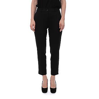 Twin-set 192tp209100006 Women's Black Viscose Pants