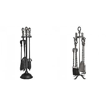 Hill Interiors Fire Tools Companion Set