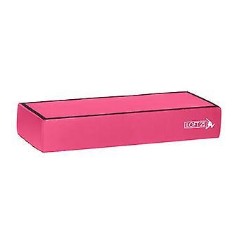 Loft 25 Gymnastics Training 'Valerie' Pink Foam Stackable Panel Booster Block