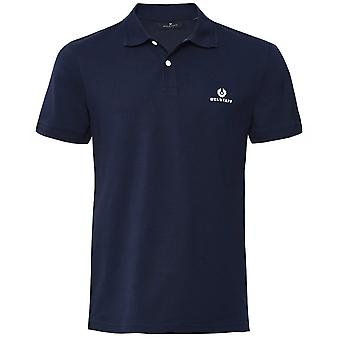 Belstaff Cotton Pique Short Sleeve Polo Shirt