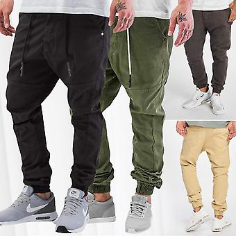 Men's Anti Fit Jeans Börge Just Rhyse Pants Jogger Casual Urban Baggy Chino