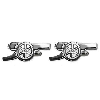 Arsenal FC Official Football Gift Chrome Executive Cufflinks