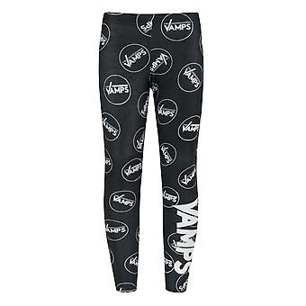 The Vamps Band Logo Black Girl's Leggings