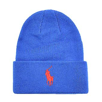 Big Pony Blue Logo Beanie