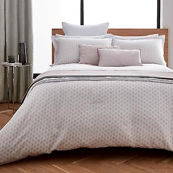 Melia Bedding And Pillowcase By Peacock Blue Hotel In Pink And White