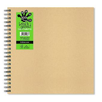 Artgecko Krafty Gecko Tüm Medya Sketchbook 30 x 30cm
