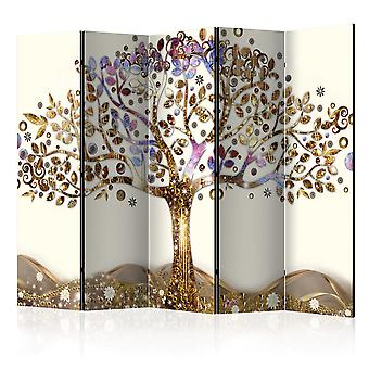 Artgeist Room Divider Golden Tree Ii Room Dividers (Decoratie , Vouwschermen)
