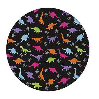 Kids Rug - Dino - Wasbaar - Cirkel 150 cm