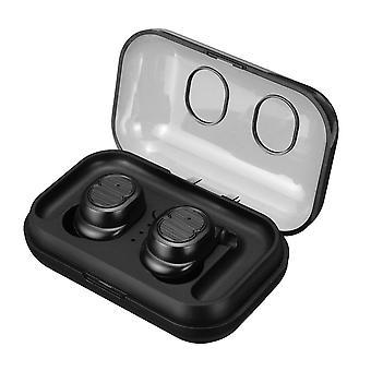 [Bluetooth 5.0] todellinen langaton urheilukuulokkeet hifi stereo kuuloke touch control automaattinen pariliitos kuulokkeet mikrofoni