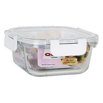 Caixa de almoço hermética Quttin 530 cc Quadrado