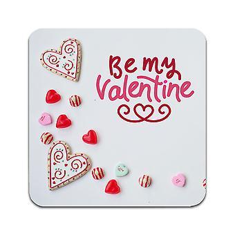 2 ST Be My Valentine Coasters