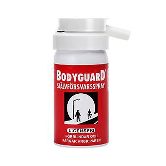 Bodyguard Defense Spray Original Rot, Jalousien und Farben