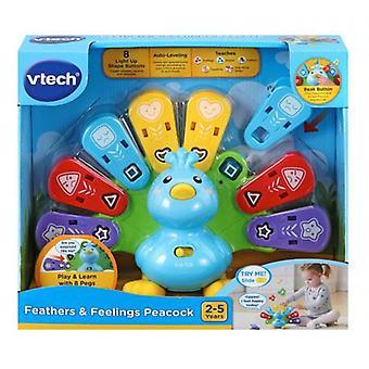 VTech Baby Feathers & Feelings Peacock
