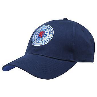 Team Mens Baseball Cap Hat Headwear Curved Peak Cotton Hook and Loop Tape
