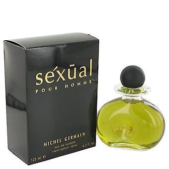 Sexual Eau De Toilette Spray By Michel Germain 4.2 oz Eau De Toilette Spray