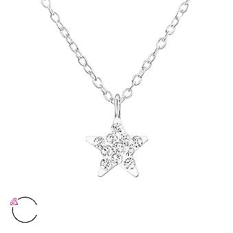 Star - 925 Sterling Silver Necklaces - W32758x