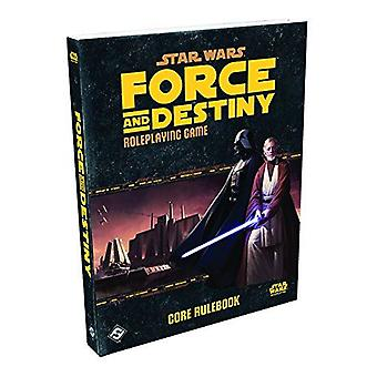 Star Wars Force and Destiny RPG Core Rulebook Book