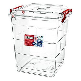 Förvaringslåda med lock confortime/32 x 31 x 37 - 20 L