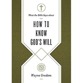"""What the Bible Says about How to Know God's Will - """"Factors to Co"""