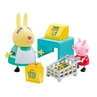 Peppa Pig, Playset - Peppas Shopping Trip