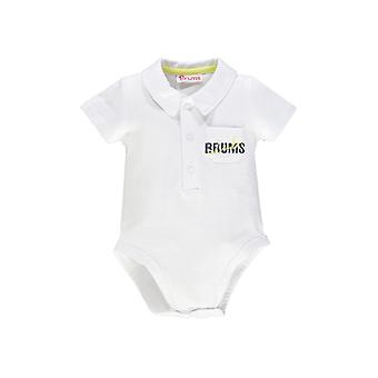 Brums Milano Jersey White Body Short Sleeves