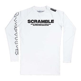 Scramble BASE Long Sleeve Rash Guard White