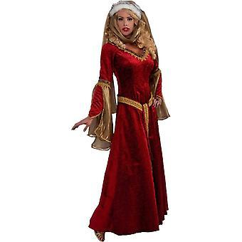 Drottningen av renässansen kvinnor kostym