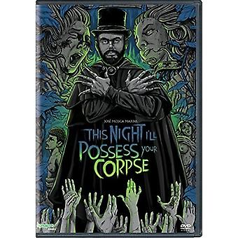 This Night I'Ll Possess Your Corpse [DVD] USA import