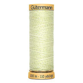 Gutermann 100% Natural Cotton Thread 100m Hand and Machine Colour Code  - 128