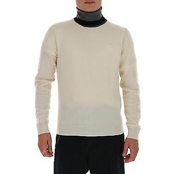 Maison Margiela S30hb0235s17555001f Men's White Wool Sweater
