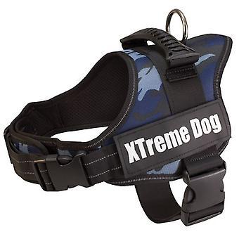 Arquivet Cão Harness Xtreme Dog Camuflagem Azul