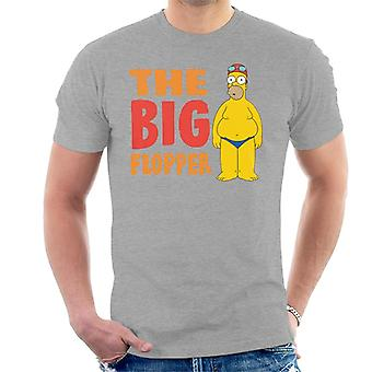 The Simpsons The Big Flopper Men's T-Shirt