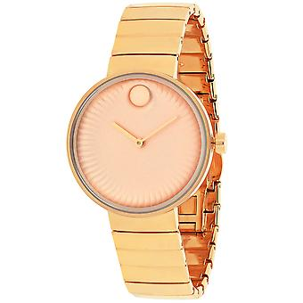 Movado Edge Rose gold Dial Watch - 3680013