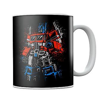 Transformers Optimus Prime Clenched Nyrkki Muki