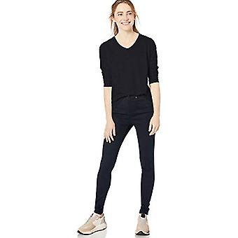 Marque - Goodthreads Women-apos;s Vintage Cotton Long-Sleeve V-Neck T-shirt,...