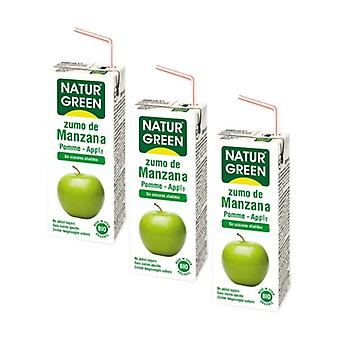 Apple Juice 3 units of 200ml