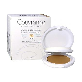 Couvrance Compact Foundation Cream - Natural 2.0 10 g