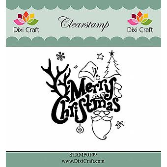 Dixi Craft Clear Stamps Merry Christmas