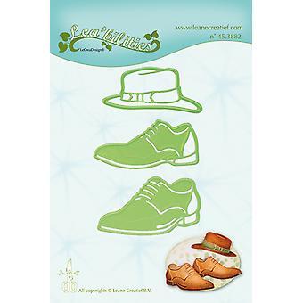 Leane Creatief Lea'bilitie Zapatos para Hombre & Sombrero