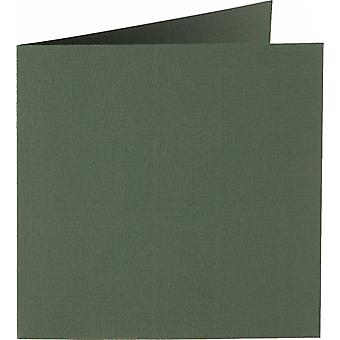 Papicolor 6X Double Card 132X132mm Olive-Green