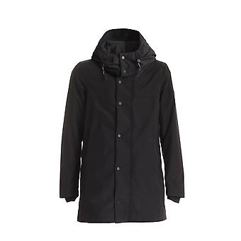 Peuterey Peu363401181106ner Men's Black Polyester Outerwear Jacket
