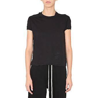Rick Owens Drkshdw Ds20f1208b09 Women's Black Cotton T-shirt