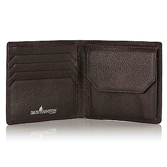 Espresso Malvern Leather Wallet with Coin Pocket
