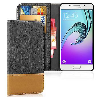 Samsung Galaxy A5 (2016) Phone Denim TPU Mobile Case Magnet Shockproof Mobile Protection