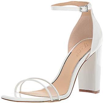 Jewel Badgley Mischka Women's Keshia II Sandal, White Patent, 9.5 M US