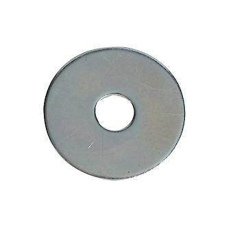 Forgefix Flat Penny Washers ZP M6 x 25mm Forge Pack 20 FORFPWAS625